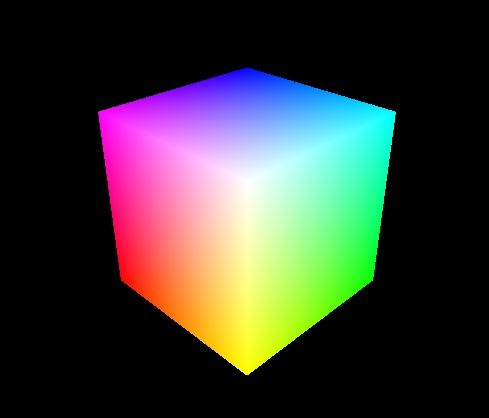 Cube Code Opengl Nfc-opengl Colour-cube